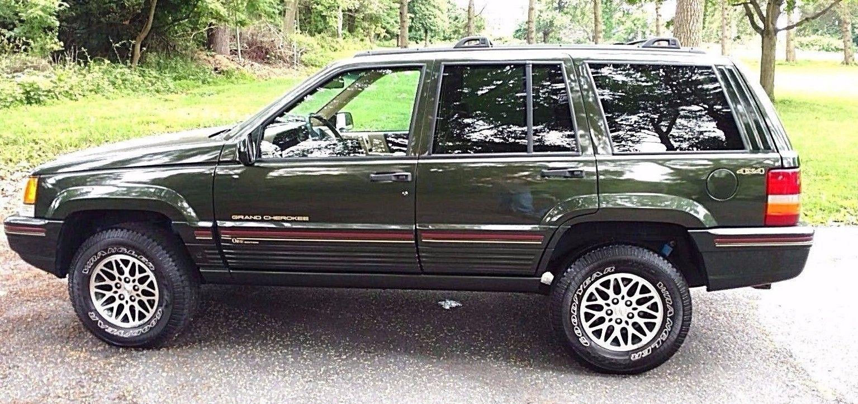1995 Jeep Grand Cherokee Orvis Jeep Grand Cherokee Jeep Orvis