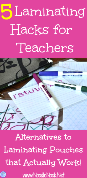 Laminating Hacks For Teachers Life Skills Classroom Self Contained Classroom Teacher Hacks