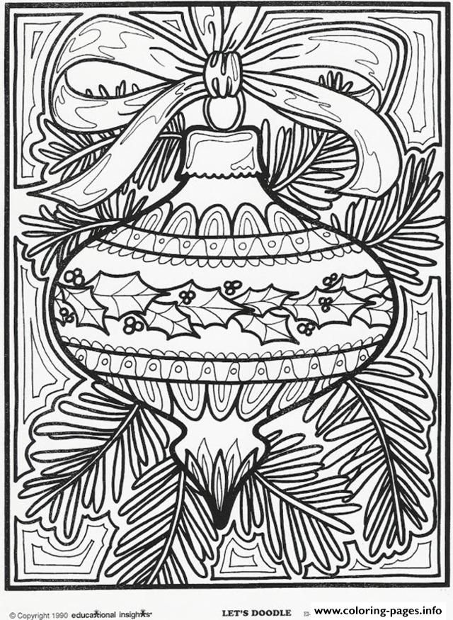 Print Christmas ornament for Christmas coloring pages | Christmas ...
