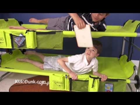Kid O Bunk Is A Portable Bed For Kids That You Can Take