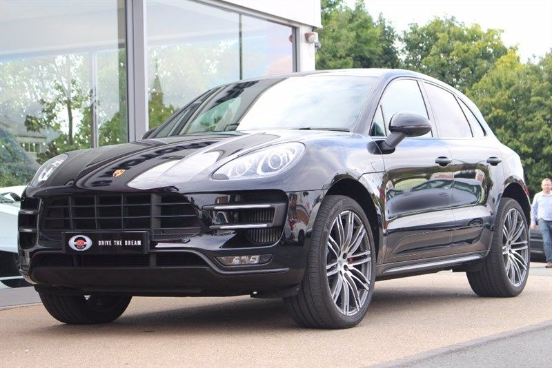 used Porsche Macan Turbo 5dr PDK 4WD in northyorkshire