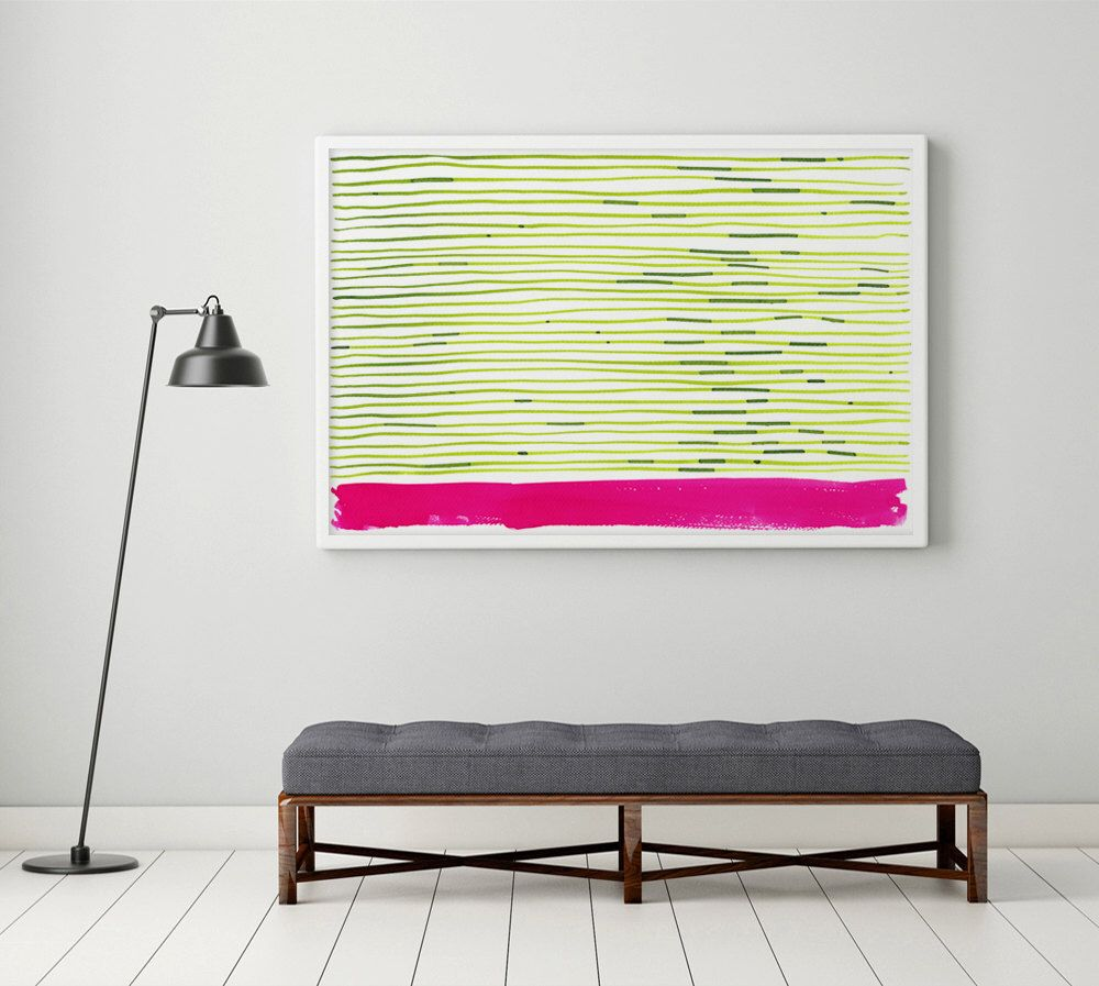 Large Abstract Art, Large Abstract Painting, Large Abstract Print ...