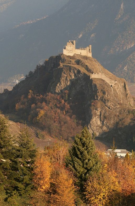 Tourbillon Castle, Sion, Switzerland