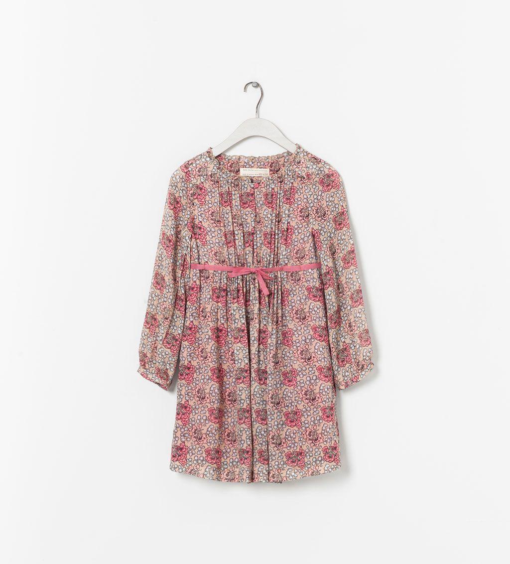 FLORAL PRINT DRESS from Zara