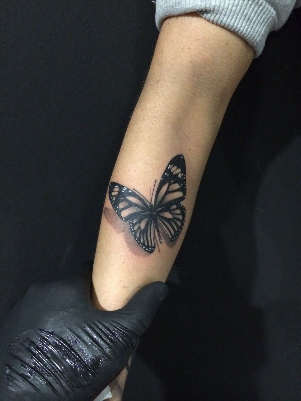 tattoos butterfly on forearm - Google-Suche   Tattoo   Pinterest ... - Tattoo Unterarm Klein