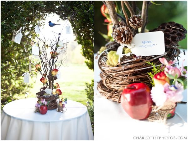 Snow white centerpieces a weekend of