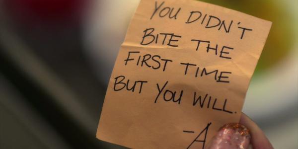 A's Messages in Season 2 - Pretty Little Liars Wiki