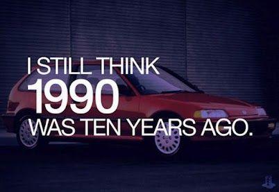 I'm old...