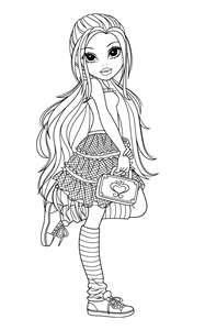 Moxie Girlz Coloring Pages Pinterest Coloring Pages Adult