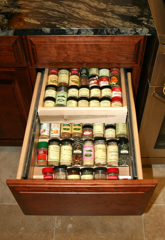 Exceptionnel Open Spice Racks And Shelves In Kitchen | St Louis Kitchen Cabinets    Cabinet Specialties