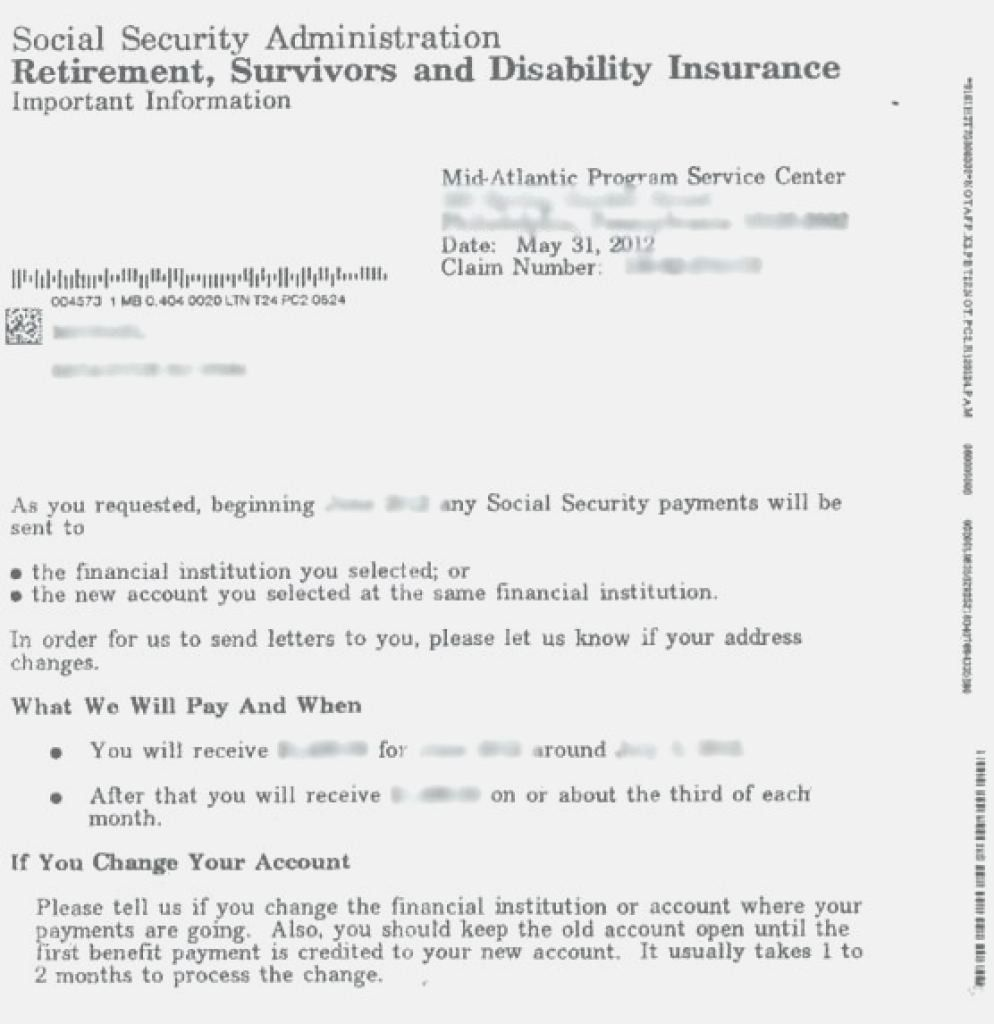 Ssi Award Letter Template Awesome Ssi Award Letter Ssi Benefits Ssi Approval Lett Social Security Disability Benefits Social Security Disability Letter Example