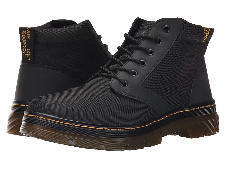 Dr. Martens Bonny Chukka Boot Men's Lace-up Boots Black/Extra Tough Nylon