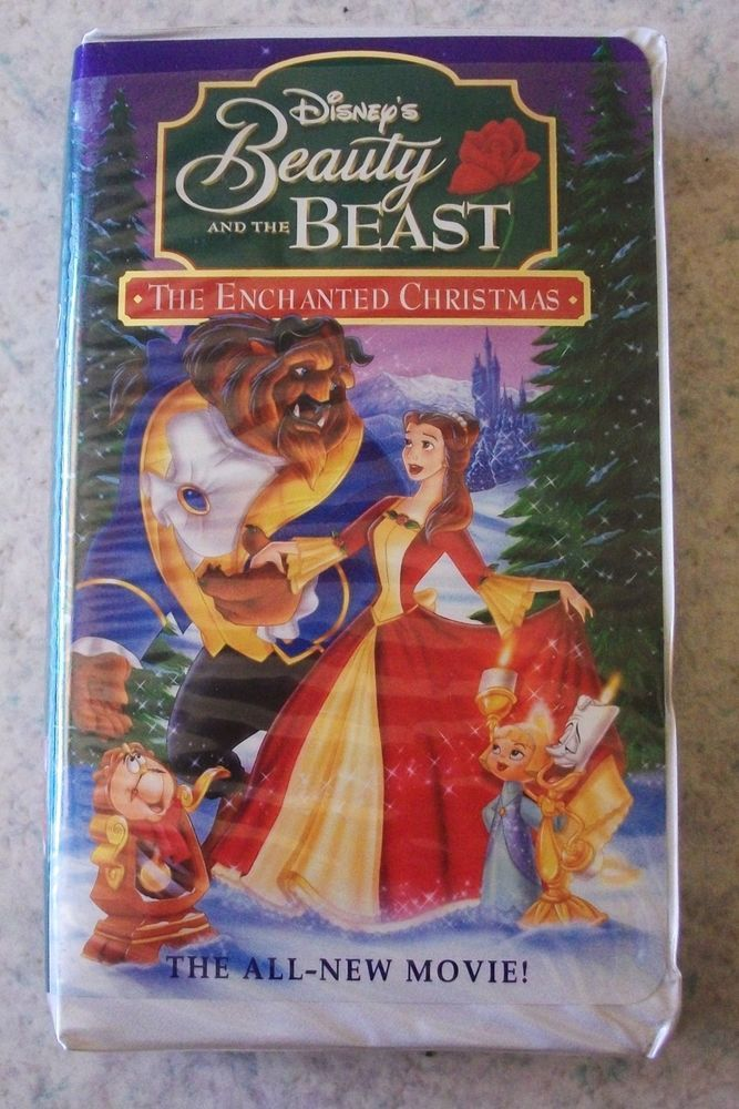 Beauty and the Beast An Enchanted Christmas (VHS, 1997