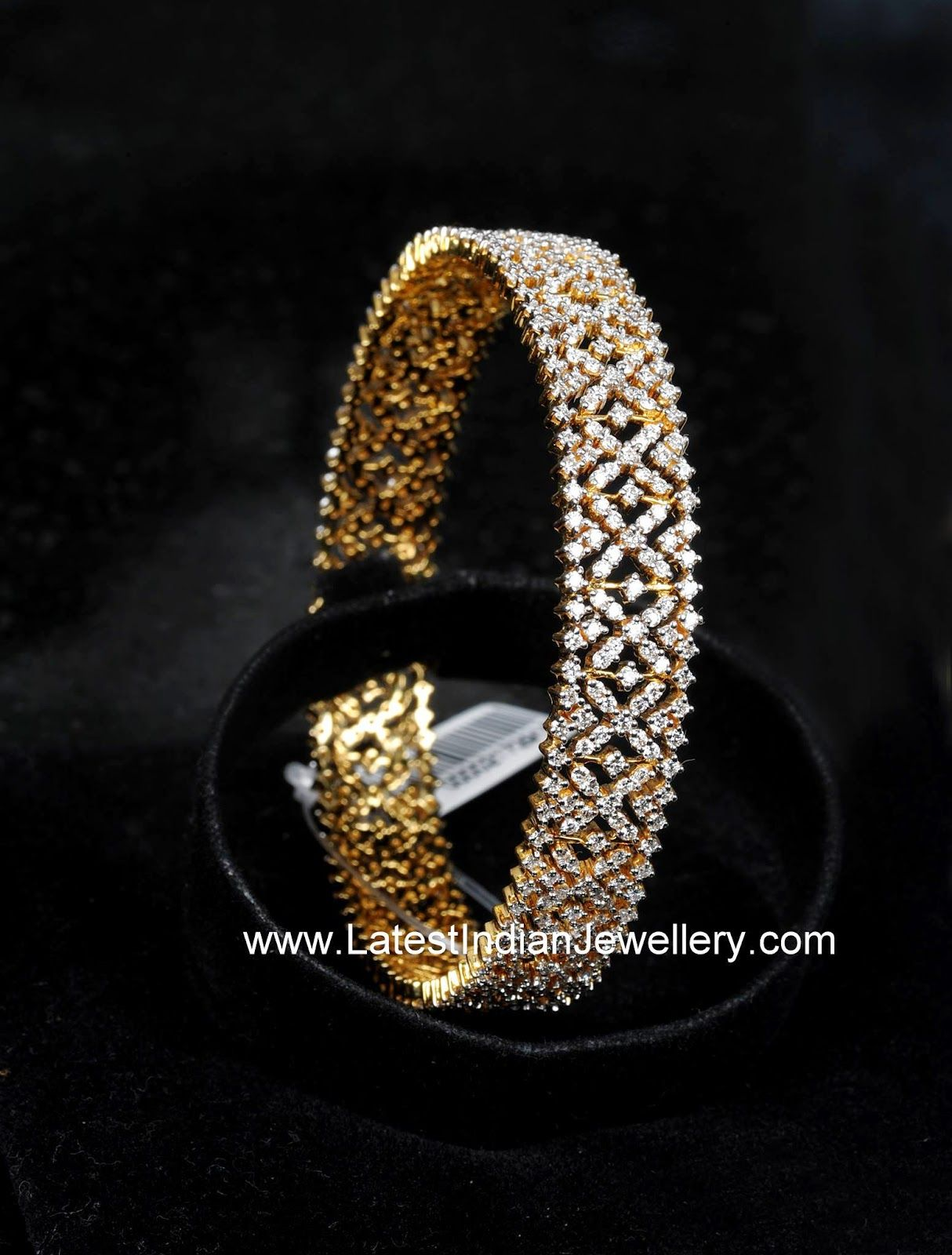 Indian Diamond Bangle Design Necklace Set Bracelets