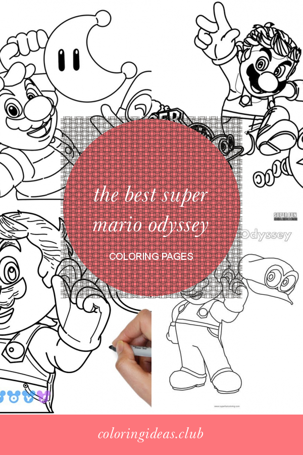 The Best Super Mario Odyssey Coloring Pages   Coloring ...
