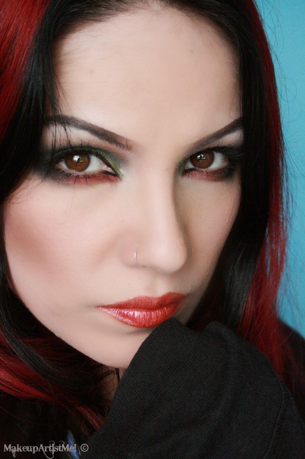 Make Up Artist Me Grunge Chick Makeup Tutorial Hair - Grunge-makeup-ideas