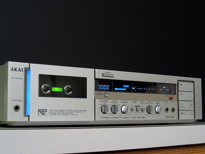 Akai Gx F31 Cassette Deck Google Search Hifi Audio