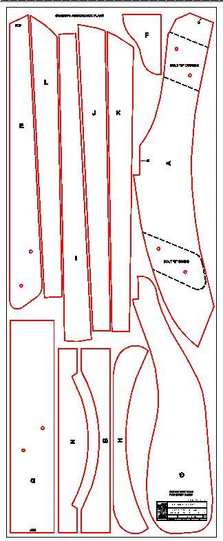 Grandpa Adirondack Chair Plans DWG files for by