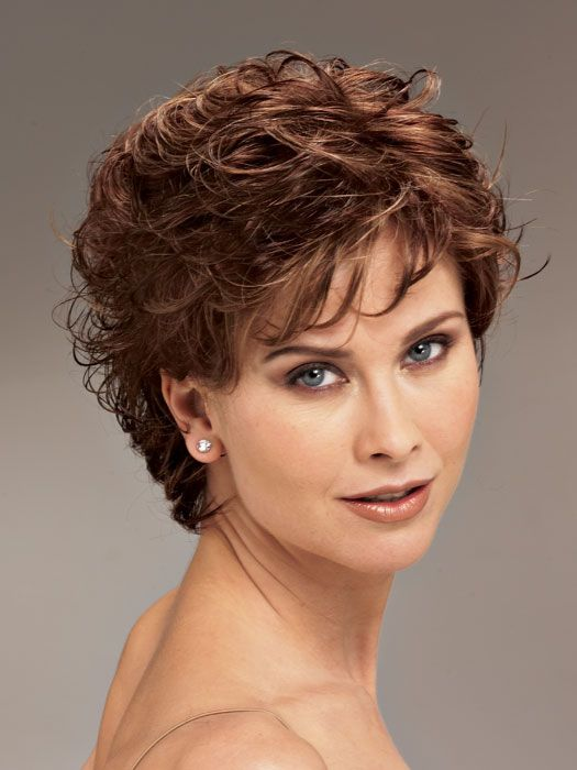short hairstyles for curly hair women over 40- Hairstyles Portal ...