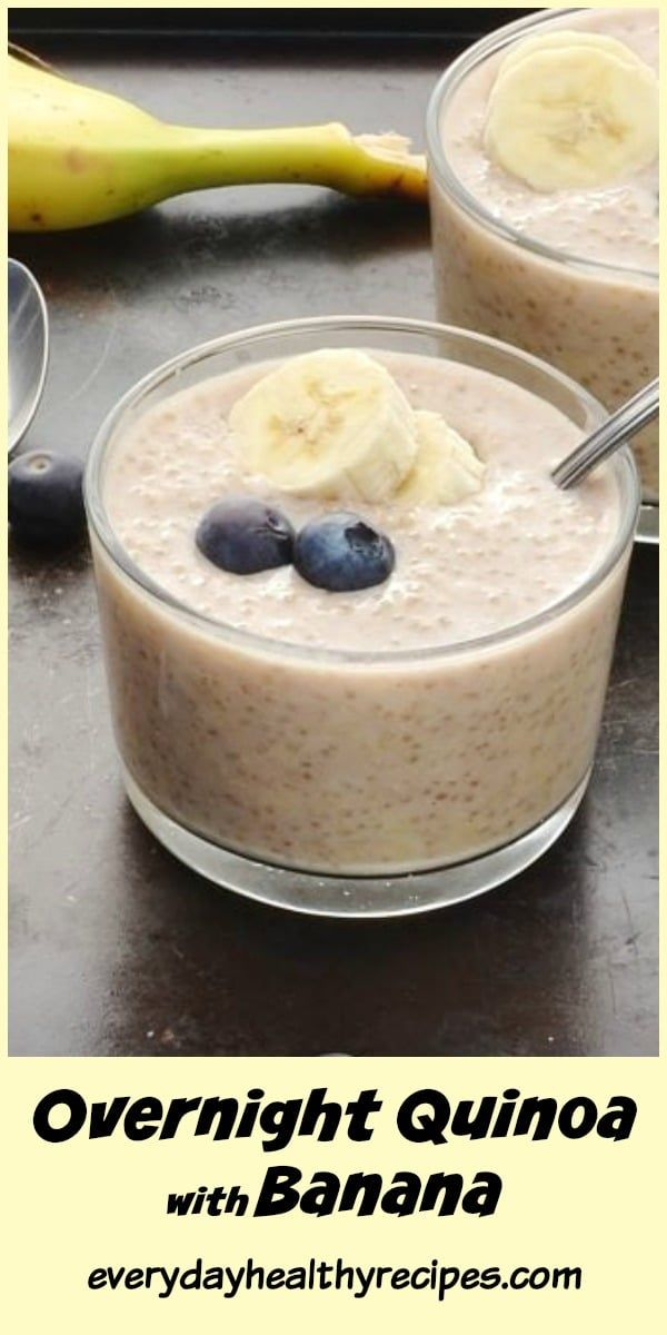 Photo of Overnight Quinoa with Banana (No Added Sugar)