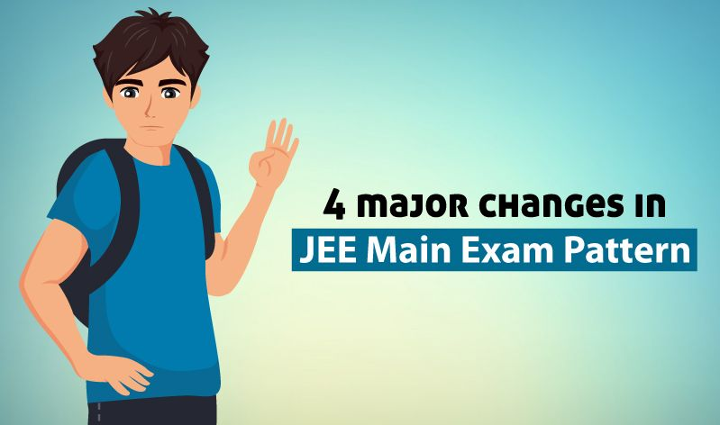 4 Must Know Changes In Jee Main 2020 Exam Pattern Exam Previous Year Question Paper Question Paper