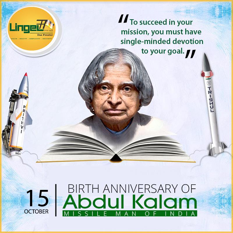 Happy birthday Dr. APJ Abdul Kalam!! He was a great