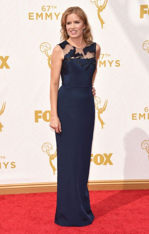 Kim Dickens in Romona Keveza at the 2015 Emmys. See what all the stars wore to the ceremony.