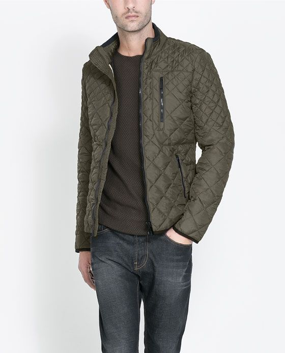 Image 1 of QUILTED JACKET from Zara  e6eba678475e