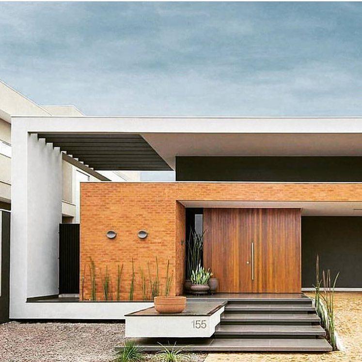 Moderne Hauseingänge 517 curtidas 2 comentários arqui eng e decor construame no