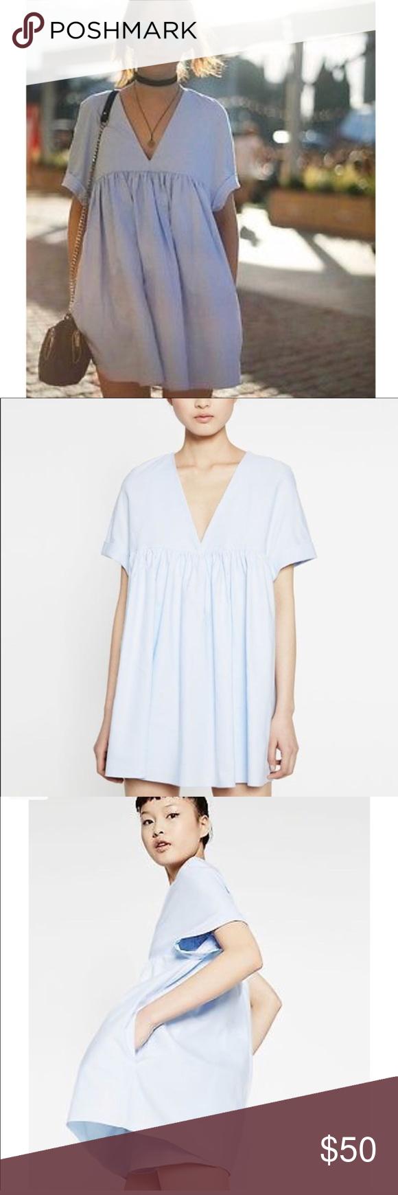 6bb0bd36 White Zara Poplin Jumpsuit Dress | Saddha