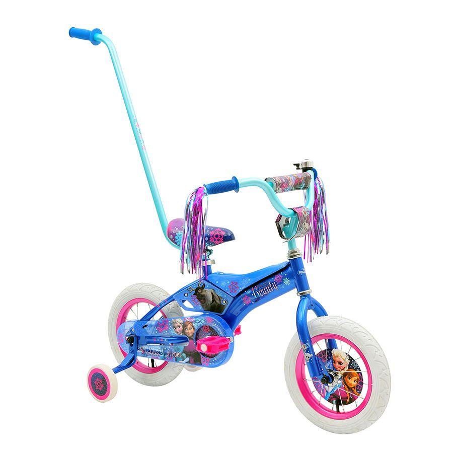 4d3f9104b63 30cm Disney Frozen Padded Bike with Parent Handle   Toys R Us Australia