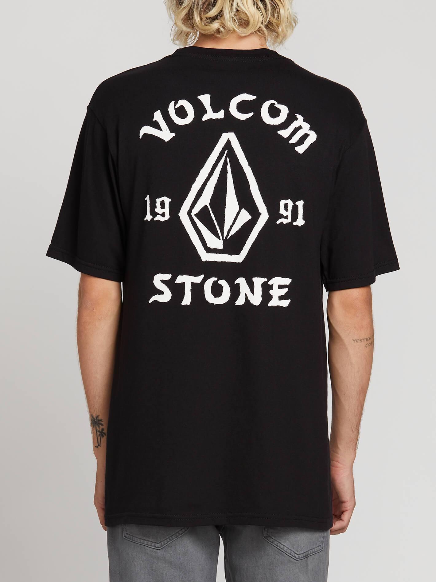 Volcom Big Boys Stone Waves Short Sleeve Rashguard