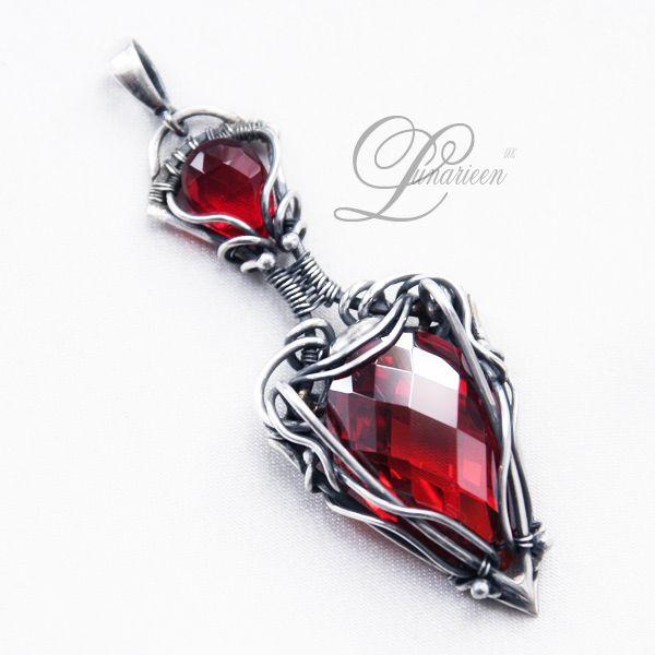 handmade: necklaces , pendants ( custom made ) technique: wire ...