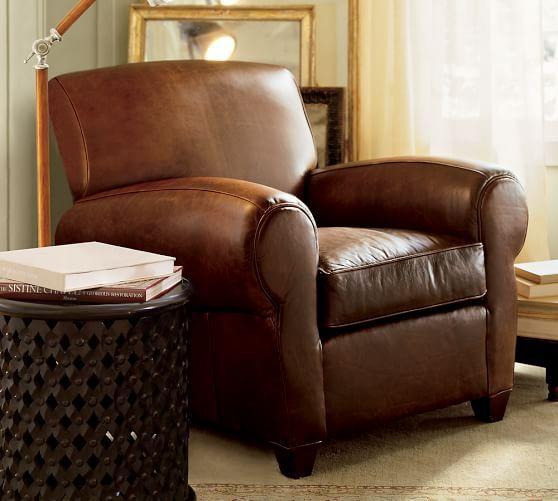 PB Manhattan Leather Armchair Decorating Pinterest Armchairs