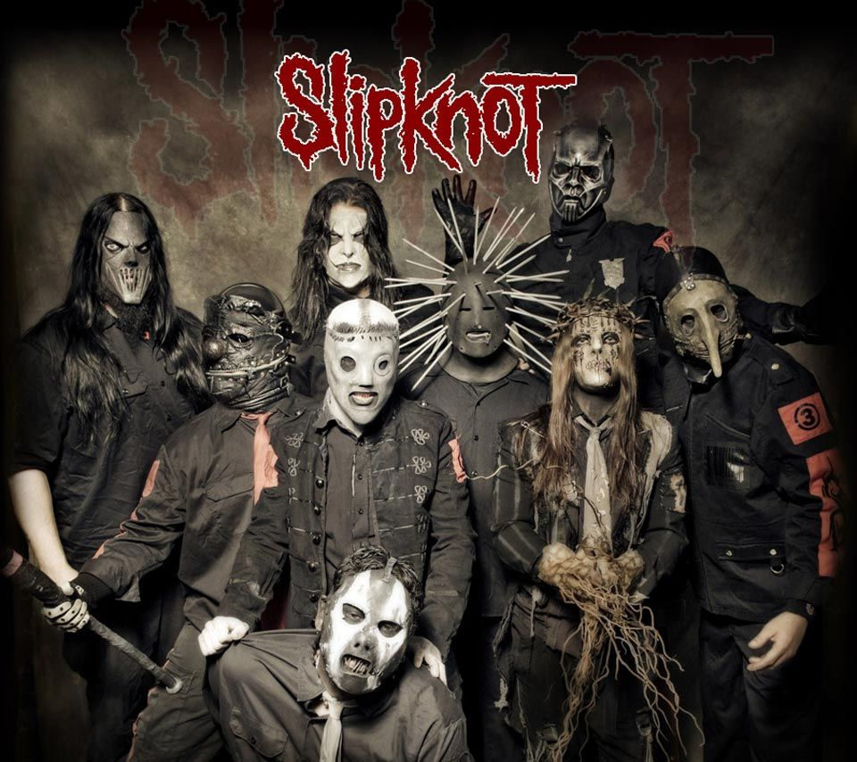 Slipknot 1 American Heavy Metal Band Poster Scary Mask Photo Music Star Legend