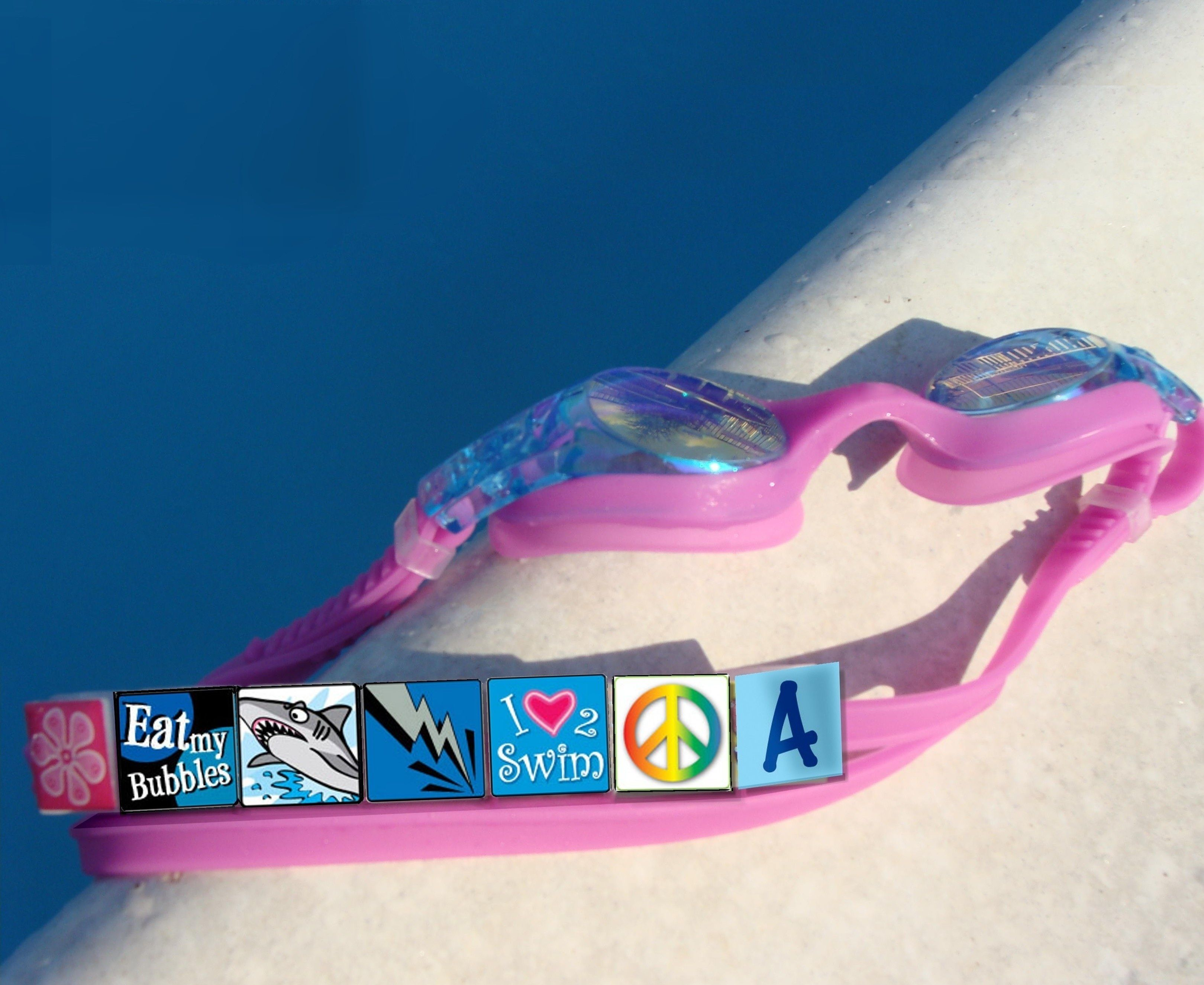 Taggoggles! A fun way to identify which pair of goggles belong to you.