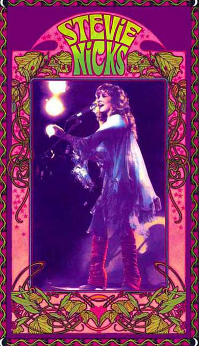 Stevie Nicks Poster Art Nouveau Poster Stevie Nicks Concert Posters