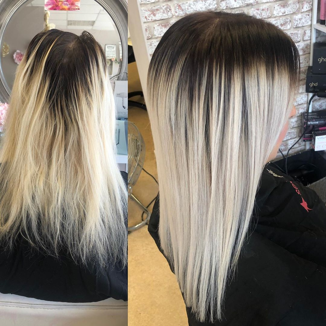 Root Stretch Gorgeous Colour Refresh Dark Root Blended