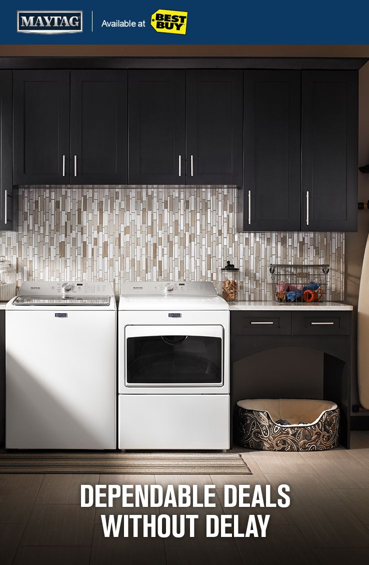 Get Powerful Black Friday Deals On Maytag Washer And Dryer Pairs Now Through 11 29 17 Laundry Room Decor Laundry Mud Room Kitchen Furniture