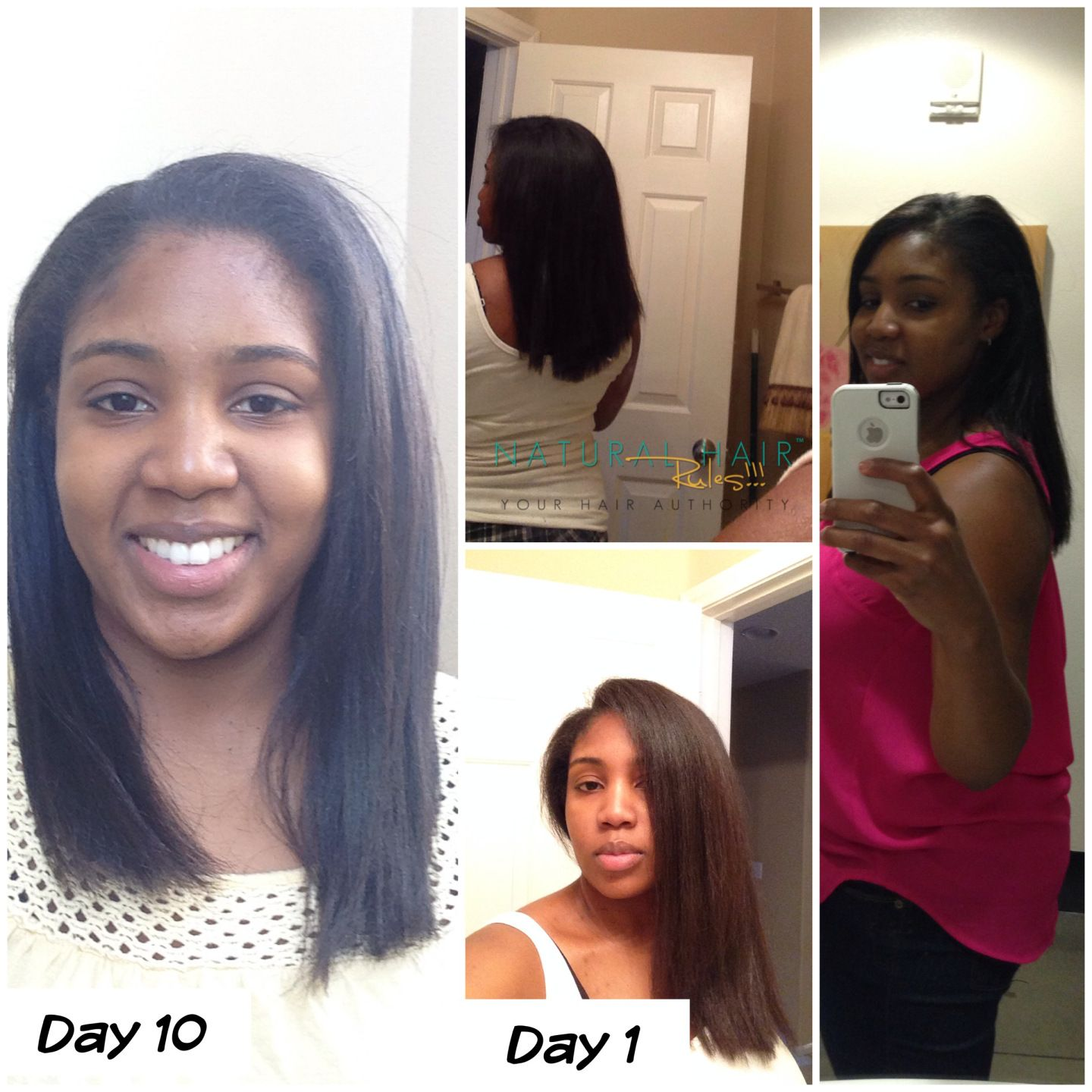 5 Ways To Make Your Straight Natural Hair Last Longer Without Reverting -1717