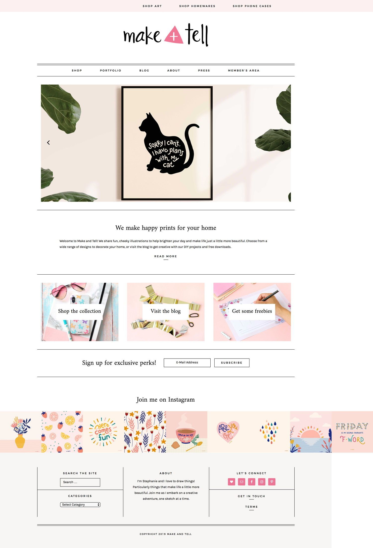 Make and Tell is a blog all about the love of crafts and