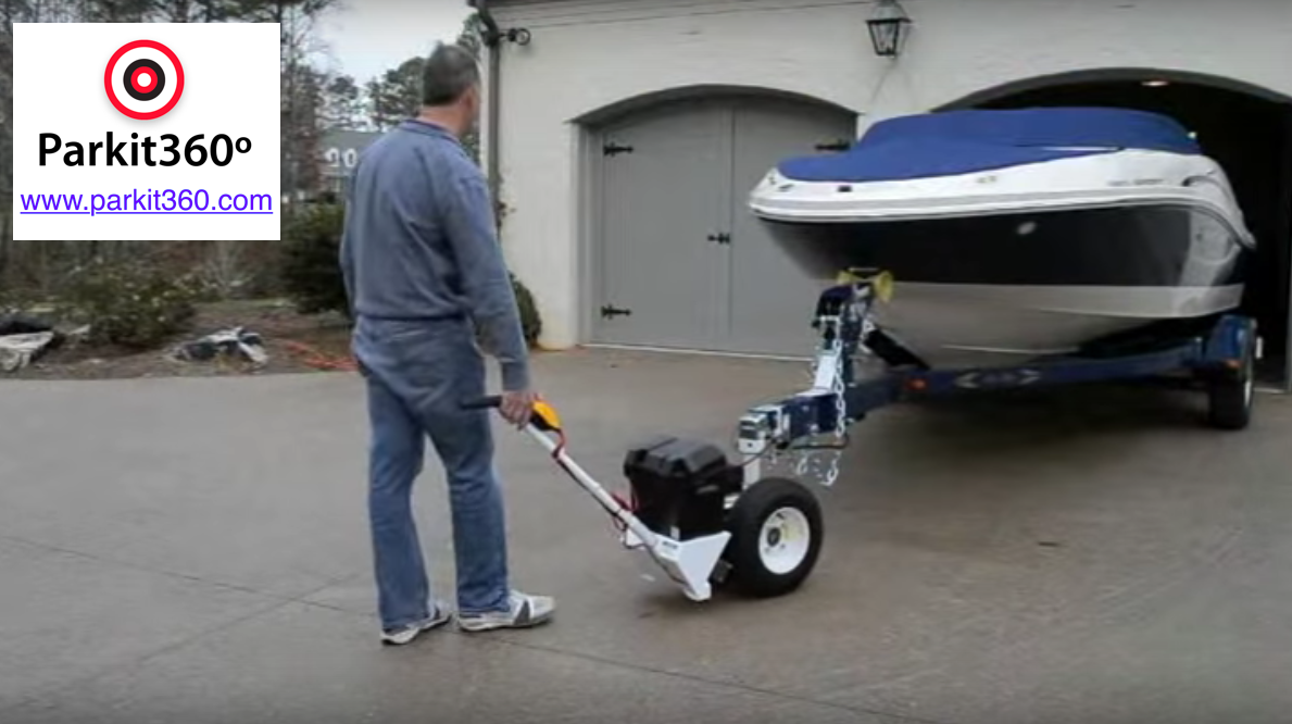 Rv trailer electric powered trailer dolly trailer mover for Motorized boat trailer mover