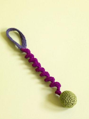 lion brand crochet patterns/toys | Hanger Bouncy Cat Toy on Lion Brand, and more free crochet patterns ...