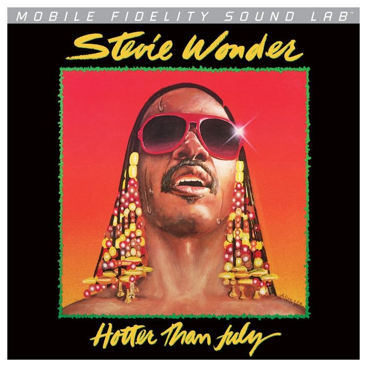 Stevie Wonder Hotter Than July On Numbered Limited