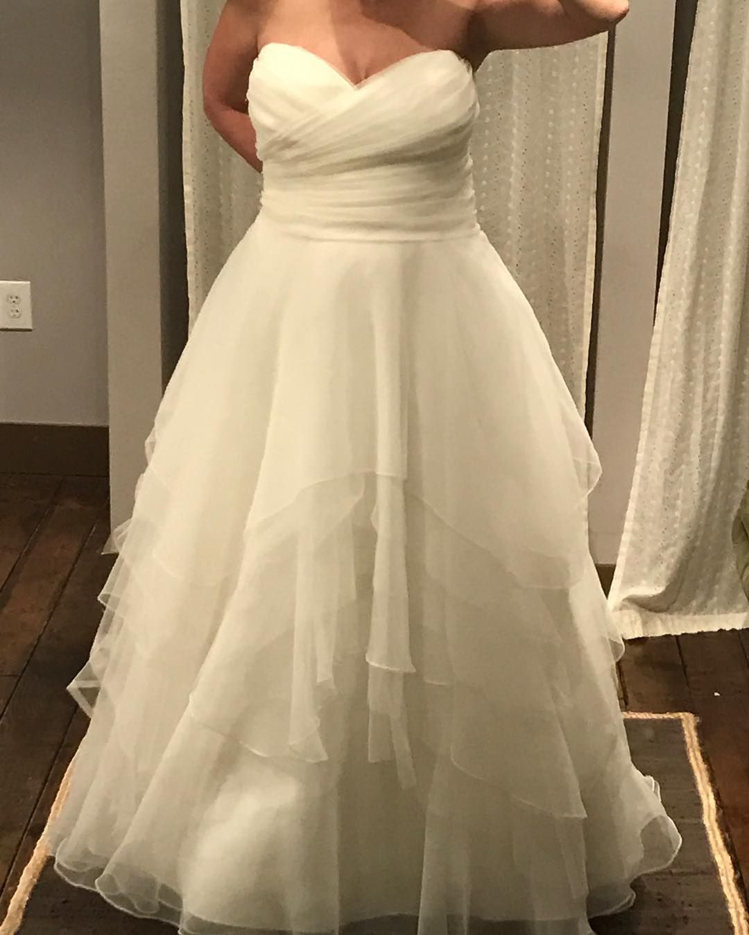 Curvy Brides Can Have Plus Size Wedding Gowns Like This Custom Made With Any Design Change