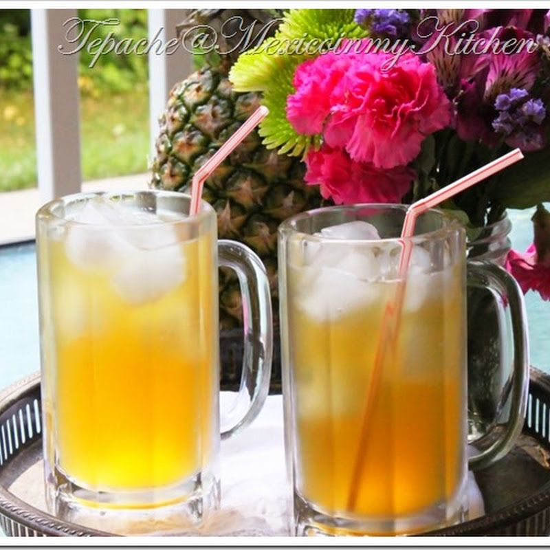 Mexico in my Kitchen: Tepache: an easy Homemade Pineapple Brew