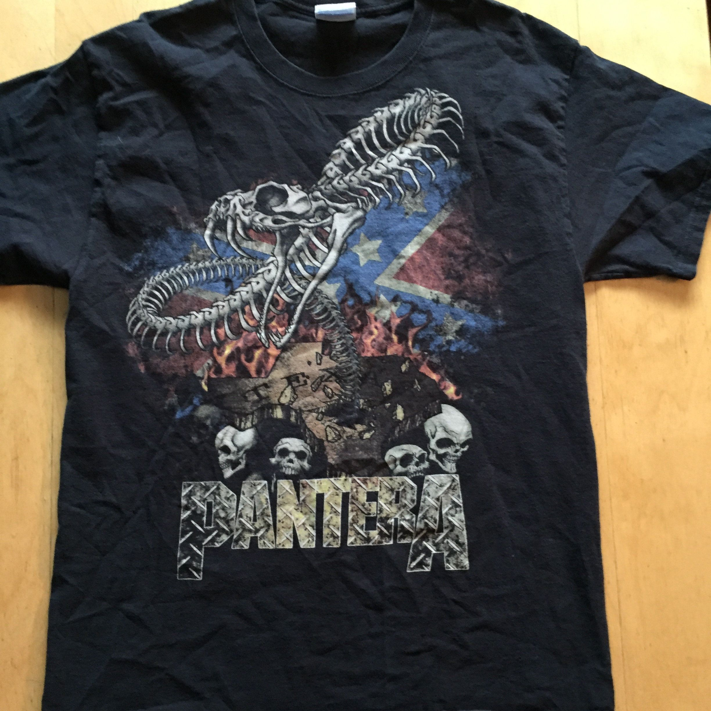 Pantera - #HeavyMetal #BandShirt - Sz Large #RebelFlag #Damageplan