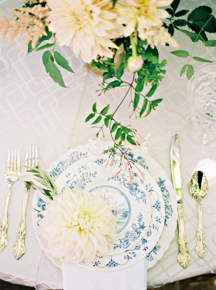 English Garden Theme Texas Wedding Inspiration Reception