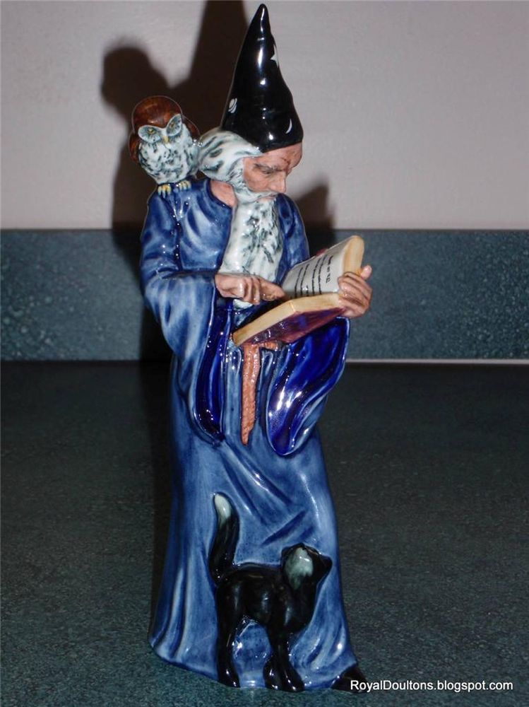 Details about Royal Doulton Figurine The Wizard Figurine HN