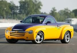 Chevy Ssr Purple Over Yellow Chevrolet Ssr Chevy Ssr Chevrolet